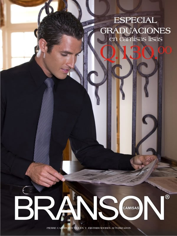 Especial Graduaciones - Camisas BRANSON